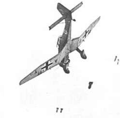 "The feared German dive-bomber Ju87 ""Stukas"" participated in the attack on the NIELS IUEL"