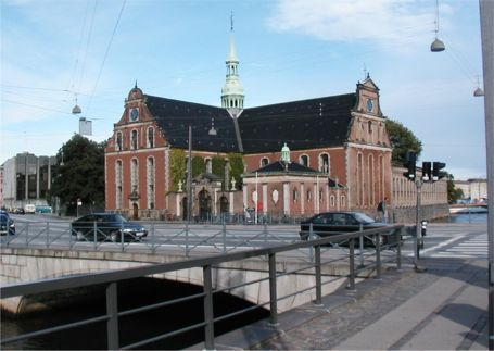 Holmens Kirke (The Naval church) in Copenhagen
