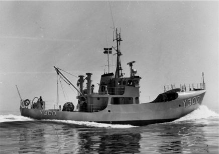 The naval patrol cutter BARSØ