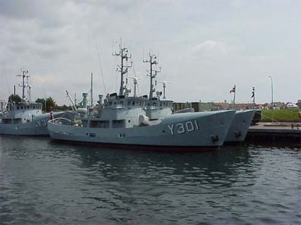 Naval Patrol Cutters of the BARSØ Class