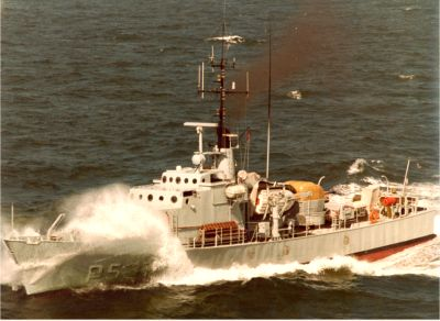 The seaward defense craft HAVFRUEN (1961-1991) was the latest ship to carry the name