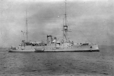 The cruiser HEJMDAL