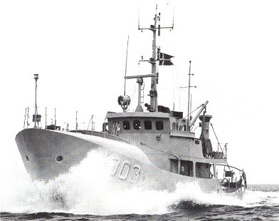 The Naval Patrol Cutter SAMSØ