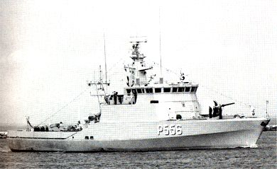 The patrol vessel SVÆRDFISKEN