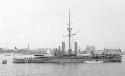 The armored ship TORDENSKJOLD