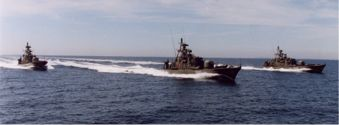 Guided Missile Torpedo Boats of the Willemoes Class